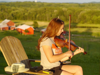 Fiddle in Upstate New York