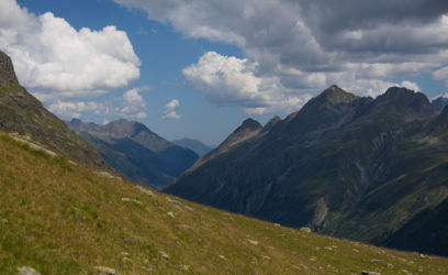 Mountain vista Gargellen