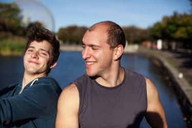Portrait of Sylvain and Micah